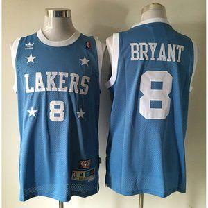 LA Lakers %238 Kobe Bryant Blue Jersey